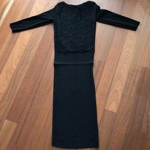 Mid length Zara knit dress